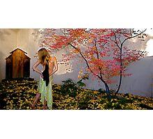 Nova Cynthia In The Garden of Delights, Santa Fe, NM Photographic Print