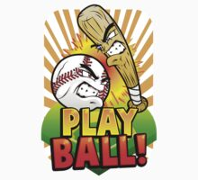 Play Ball! One Piece - Long Sleeve