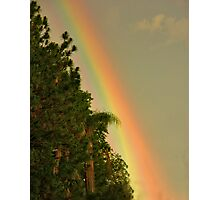 End of the Rainbow. Photographic Print