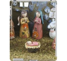 Christmas nativity scene  iPad Case/Skin