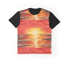 sunset love Graphic T-Shirt