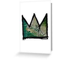 "Basquiat ""King of Oakland Berkeley California"" Greeting Card"