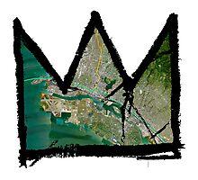 "Basquiat ""King of Oakland Berkeley California"" Photographic Print"