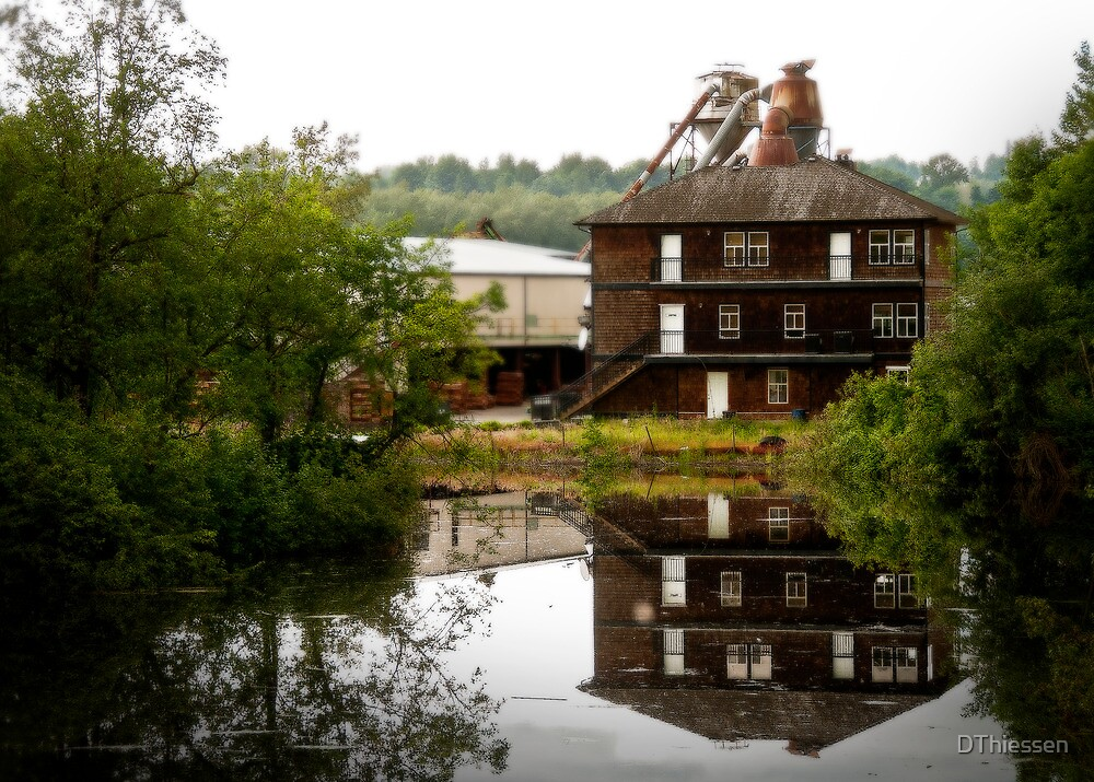 Old Mill by DThiessen