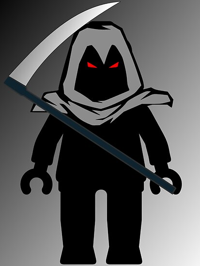 Grim Reaper Minifig by 'Customize My Minifig' by ChilleeW