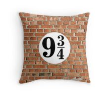 9 3/4 - Brick Throw Pillow