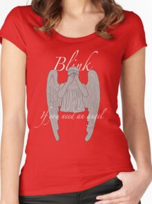 BLINK If You Need an Angel Women's Fitted Scoop T-Shirt