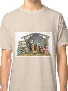 Christmas nativity scene  Classic T-Shirt
