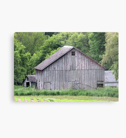 Barn Near Homer Metal Print