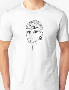 Tattoos girl Unisex T-Shirt