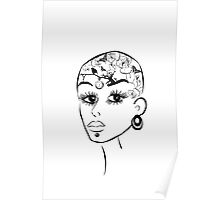 Tattoos girl Poster