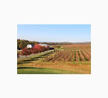 Vineyard fields in the fall Unisex T-Shirt