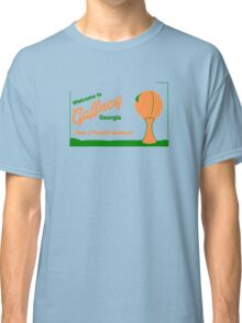 Gaffney Georgia Postcard President Underwood Classic T-Shirt