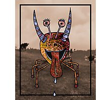 Trippy monster Photographic Print