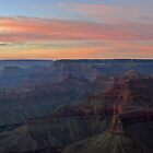 Grand Canyon Sunset by DarthIndy