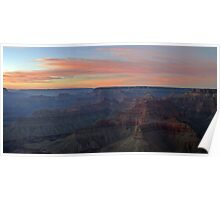 Grand Canyon Sunset Poster