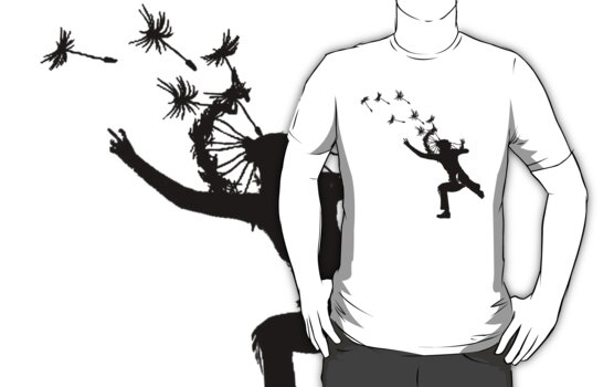 Dandelions Are Fun! T-Shirt by Denis Marsili - DDTK