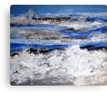 To paint the sea... Canvas Print