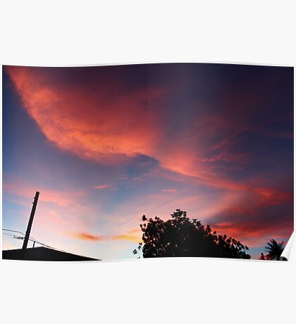 The Pink Skies Poster