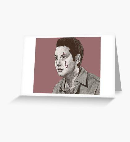 Dead Things - Warren Mears - BtVS S6E13 Greeting Card