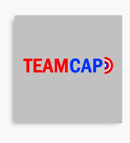 Team Cap Canvas Print