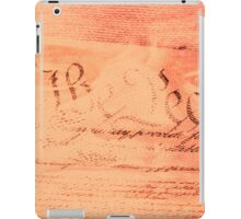 Double exposure finance and government concept iPad Case/Skin