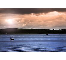 youghal boats at dusk Photographic Print