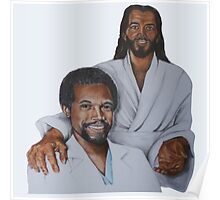 Ben Carson and Jesus Christ - Ben Carson 2016 Poster