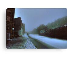 Canal by Weavers Wharf Canvas Print