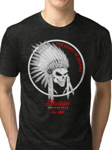 Indian Motorcycle (Custom)  Tri-blend T-Shirt