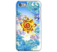 Sun after rain iPhone Case/Skin