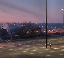 Car park, Bromsgrove Street, Kidderminster by Alex Drozd