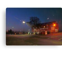 Car park and building, Bromsgrove Street, Kidderminster Canvas Print