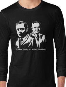 Vintage William Harley & Arthur Davidson  Long Sleeve T-Shirt