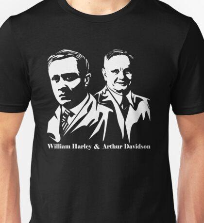 Vintage William Harley & Arthur Davidson  Unisex T-Shirt