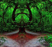Magical Forest - Enter at Your Own Risk - Daily Homework - Day 54 - June 30, 2012 by aprilann