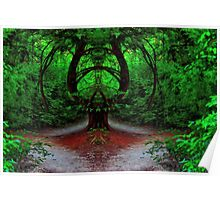 Magical Forest - Enter at Your Own Risk - Daily Homework - Day 54 - June 30, 2012 Poster