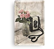A Love For Photography Canvas Print