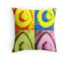 The One With The Avocado- Warhol Throw Pillow