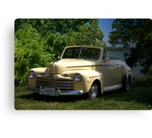 "1946 Ford Convertible ""Back to the Future"" Canvas Print"