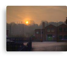 Green Street, Kidderminster Canvas Print