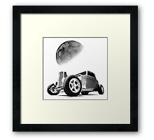 from the dark side of the moon  Framed Print