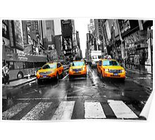 Yellow Taxi Poster