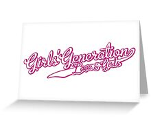 Girls Generation - Love and Girls Greeting Card