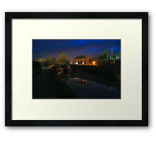 Lime Kiln Bridge Framed Print