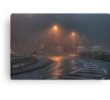 Morrisons car park, Kidderminster Canvas Print