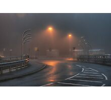 Morrisons car park, Kidderminster Photographic Print