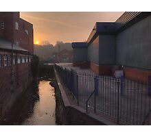 New Road, Kidderminster, sunrise Photographic Print