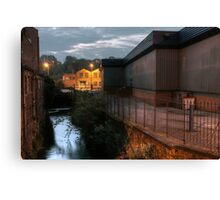 New Road, Kidderminster, early morning Canvas Print