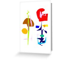 n the Garden  Greeting Card